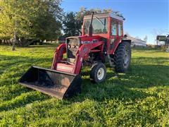 Massey Ferguson 1085 2WD Tractor W/Loader