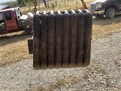 Case IH Maxxum 125 Front Tractor Weights & Bracket