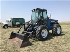 Ford Versatile 9030 Bi-Directional 4WD Tractor W/Loader & Bucket