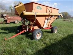 Bradford 240-316 Gravity Box & Seed Auger On PK 10 Ton Running Gear