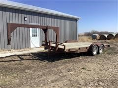1993 Gold Star 18' T/A Flatbed Trailer