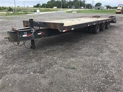 1999 Towmaster T50 Tri/A Flatbed Trailer
