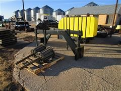 Demco Tractor Saddle Tanks W/Mounting Equipment