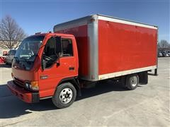 2000 GMC W4500 S/A Cabover Enclosed Box Truck
