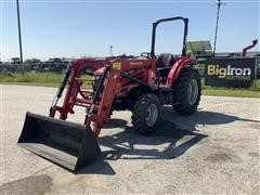 Mahindra 2655 4WD Compact Utility Tractor W/Loader