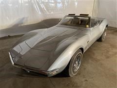1969 Chevrolet Stingray Corvette Convertible
