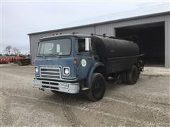 1977 International C01850B S/A Asphalt Distributor Truck