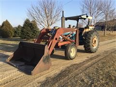 Ford 6610 2WD Tractor W/Loader