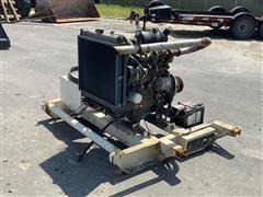 Kubota 1505 4-Cyl Turbo Diesel Power Unit