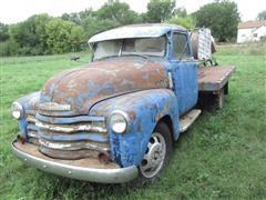 1949 Chevrolet 3800 Flatbed Truck W/Tank