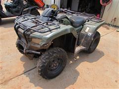 2015 Honda Rancher TRX 420FM2 4x4 ATV