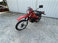 1984 Honda Enduro XL350R Motorcycle Dirt Bike