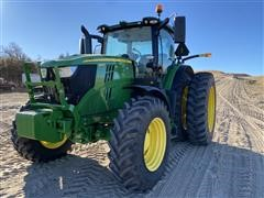 2018 John Deere 6215R MFWD Tractor