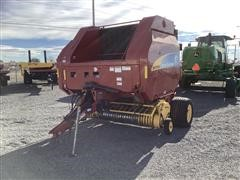 2008 New Holland BR7090 Xtra Sweep Round Baler