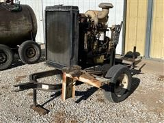 1987 Cummins Power Unit On Cart