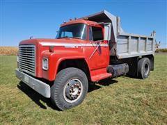 1976 International LoadStar 1850 S/A Dump Truck