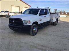2015 RAM 3500 4x4 Crew Cab Service Truck