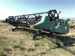John Deere 925 Header W/Trailer