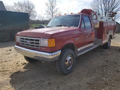1989 Ford F-350 4X4 Fire Truck