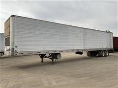 2001 Utility 53' T/A Enclosed Reefer Trailer
