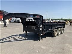 2017 Load Trail DH21 Tri/A Gooseneck Dump Trailer