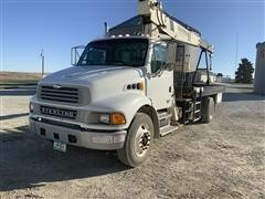 2001 Sterling Acterra M7500 S/A Boom Truck W/National 300B
