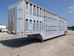2000 Merritt Goldline 2000 50' Multi-Level T/A Livestock Trailer