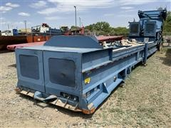 2008 Cambelt International CF2445 T/A Trailer Mounted Reclaimer Conveyor