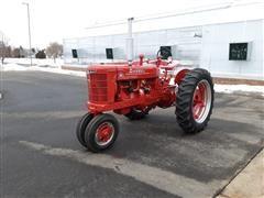 1950 International Farmall M 2WD Row Crop Tractor