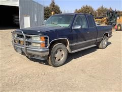 1998 Chevrolet 1500 4x4 Extended Cab Pickup