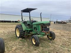 John Deere 6210 2WD Tractor W/loader (INOPERABLE)