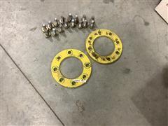 John Deere 6420 Wheel Reinforcements