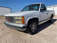 1992 GMC Sierra 1500 SLX Regular Cab 2WD Pickup