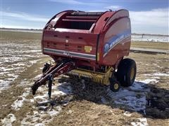 2015 New Holland Roll-Belt 560 Specialty Crop Round Baler