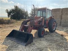 1979 International 1086 2WD Tractor W/358 Farmhand Loader