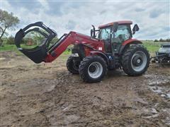 2015 Case IH Puma 165 CVT MFWD Tractor