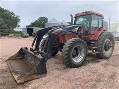 1994 Case IH 7250 MFWD Tractor W/Westendorf 570 Loader