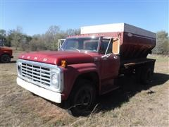 1975 Ford F600 S/A Lime Truck (Inoperable)