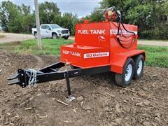 2021 Industrias America T/A Bulk Fuel Trailer W/DEF Tank