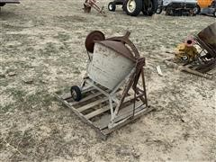 Electric-Powered Cement Mixer