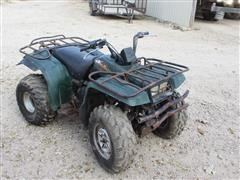 1998 Yamaha 350 Big Bear 4x4 ATV (INOPERABLE)