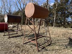 Eaton 100-Gal Fuel Barrel W/Stand