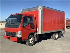 2007 Mitsubishi FUSO FE180 Tilt Cab 2WD Box Truck
