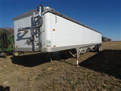 1992 Timpte Super Hopper 401 T/A Aluminum Grain Trailer