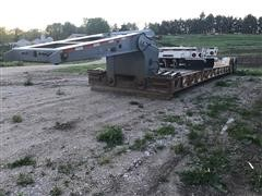 1989 Load King 40T Quad Axle Hyd Detachable Lowboy