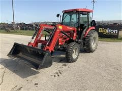 Mahindra 2565 4WD Compact Utility Tractor W/Loader