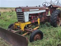 1960 International 460 Diesel 2WD Tractor W/Blade