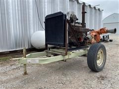 Chevrolet 454 Power Unit W/Pump On Cart