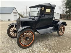 1924 Ford Model T Folding Top One Seater Roadster
