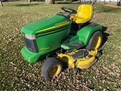 2002 John Deere GX345 Riding Lawn Mower